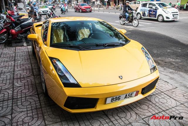 Lamborghini Gallardo từng gắn liền với tên tuổi Cường Đô-la bất ngờ tái xuất trên phố Sài Gòn - Ảnh 7.