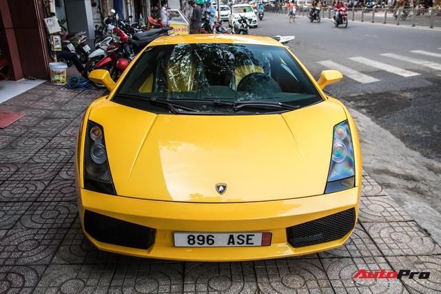 Lamborghini Gallardo từng gắn liền với tên tuổi Cường Đô-la bất ngờ tái xuất trên phố Sài Gòn - Ảnh 5.