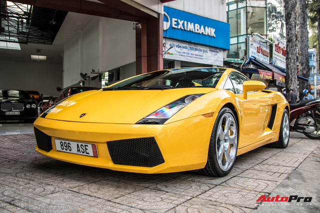 Lamborghini Gallardo từng gắn liền với tên tuổi Cường Đô-la bất ngờ tái xuất trên phố Sài Gòn - Ảnh 8.