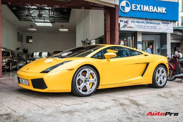 Lamborghini Gallardo từng gắn liền với tên tuổi Cường Đô-la bất ngờ xuất hiện trên phố Sài Gòn - Ảnh 4.
