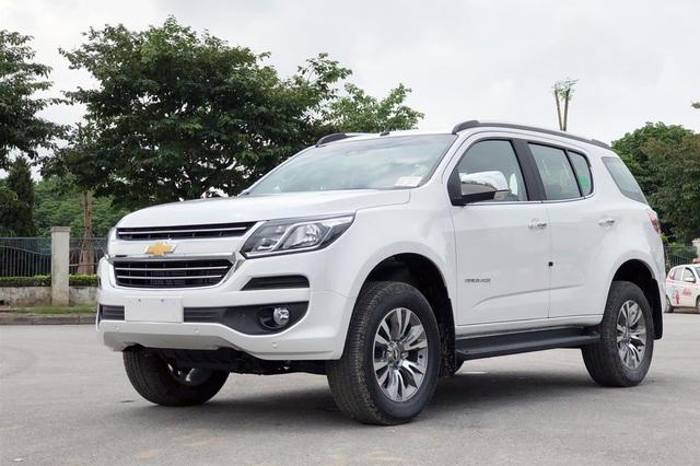 Chevrolet Trailblazer xả hàng giảm sốc hơn 400 triệu đồng, giá hạ còn chưa tới 700 triệu: Đại lý loạn giá, dân tình đổ xô lùng mua xe khắp các tỉnh thành - Ảnh 1.