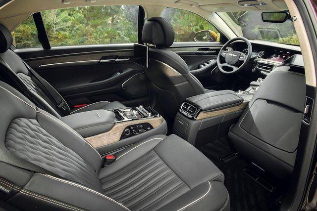Xe sang Hàn Quốc bứt phá ngoạn mục: Genesis sở hữu nguyên dàn xe đạt danh hiệu an toàn nhất - Ảnh 2.