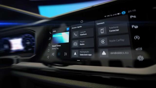 Volkswagen Nivus lần đầu lộ nội thất sang xịn, đáp trả Hyundai Kona và Kia Seltos - Ảnh 2.
