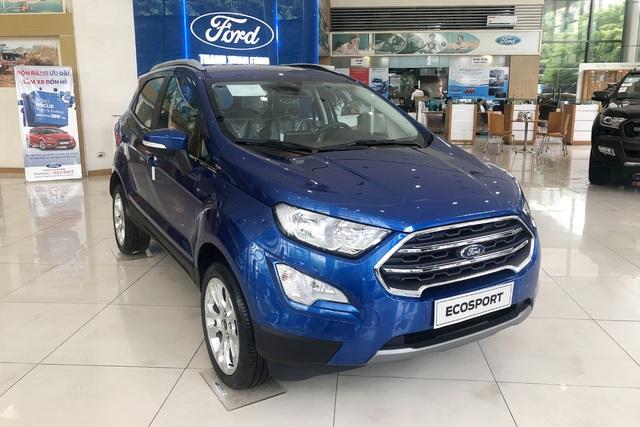 Ford EcoSport giảm giá sốc gần trăm triệu, xuống hơn 470 triệu đồng - Cơ hội lấy lại ngôi vương từ Hyundai Kona - Ảnh 2.
