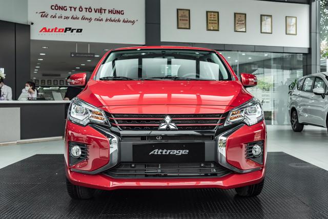 Mitsubishi Attrage 2020 ra mắt Việt Nam: 12 điểm mới, giá sốc từ 375 triệu, rẻ nhất phân khúc, đe doạ Kia Soluto - Ảnh 1.