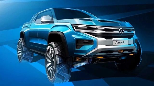 Volkswagen Amarok - Bán tải chung khung gầm Ford Ranger lộ diện