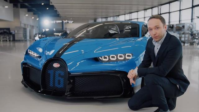 Ra mắt xe thời Covid-19: Dàn lãnh đạo Bugatti chào hàng siêu phẩm Chiron Pur Sport mới