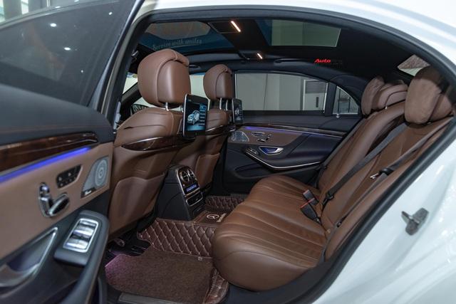 Mới chạy 19.000 km, Mercedes-Benz S 450 L độ Maybach của đại gia Việt đã xuống giá rẻ hơn 1 tỷ đồng - Ảnh 8.