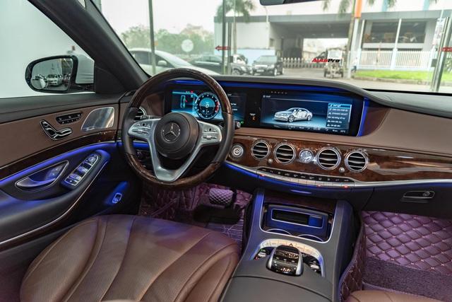 Mới chạy 19.000 km, Mercedes-Benz S 450 L độ Maybach của đại gia Việt đã xuống giá rẻ hơn 1 tỷ đồng - Ảnh 6.