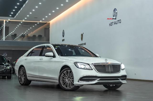 Mới chạy 19.000 km, Mercedes-Benz S 450 L độ Maybach của đại gia Việt đã xuống giá rẻ hơn 1 tỷ đồng - Ảnh 10.