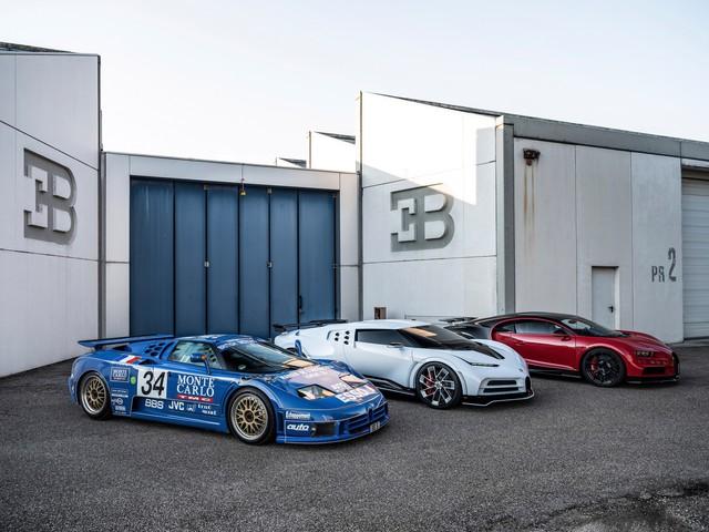 Choáng ngợp trước dàn Bugatti với toàn siêu phẩm quý hiếm trị giá hàng trăm triệu USD tụ họp - Ảnh 3.