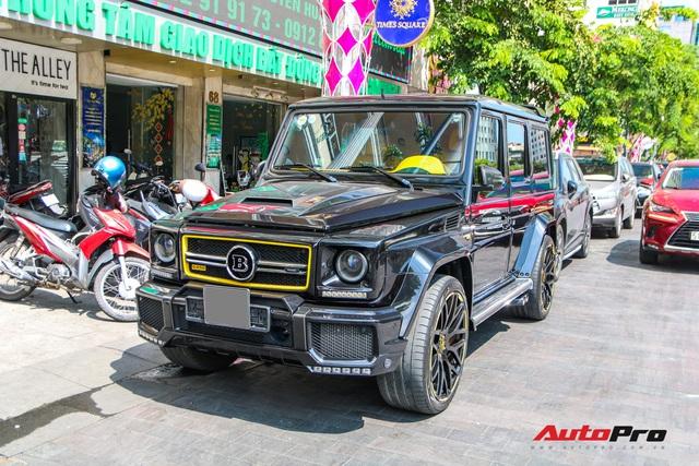 Bắt gặp siêu SUV Brabus G850 độc nhất Sài Gòn, sở hữu chi tiết tạo nên khác biệt so với chiếc duy nhất miền Bắc - Ảnh 1.