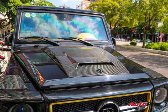Bắt gặp siêu SUV Brabus G850 độc nhất Sài Gòn, sở hữu chi tiết tạo nên khác biệt so với chiếc duy nhất miền Bắc - Ảnh 5.