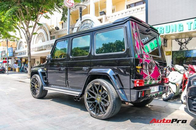 Bắt gặp siêu SUV Brabus G850 độc nhất Sài Gòn, sở hữu chi tiết tạo nên khác biệt so với chiếc duy nhất miền Bắc - Ảnh 9.