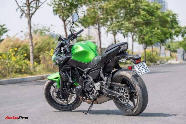 Đánh giá Kawasaki Z650: Naked bike cỡ trung đạt tiêu chí Ngon, bổ, nhưng tạm rẻ - Ảnh 7.