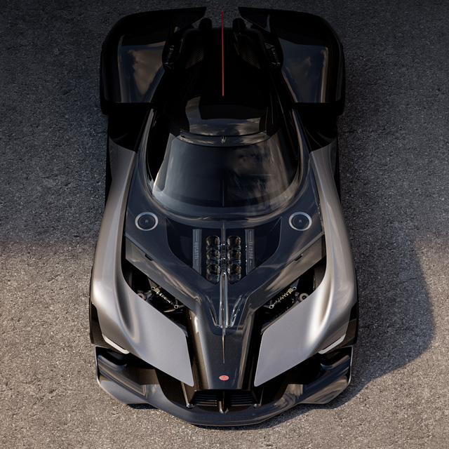 Bugatti hậu thuẫn sinh viên thiết kế siêu xe nếu ngày mai hãng không còn sản xuất nữa và nhận cái kết bất ngờ - Ảnh 2.