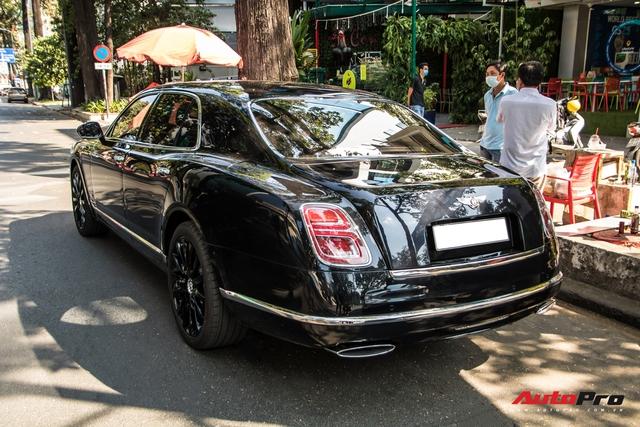 Bentley Mulsanne W.O Edition hàng hiếm âm thầm về Việt Nam với nhiều trang bị độc nhất vô nhị - Ảnh 4.