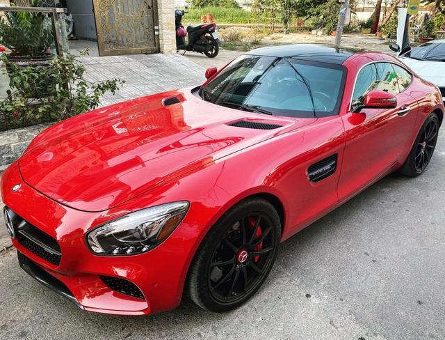 Mercedes-AMG GTS từng thuộc sở hữu Cường đô-la rao bán hơn 3 tỷ đồng, rẻ hơn 8,6 tỷ đồng xe mua mới chính hãng - Ảnh 1.