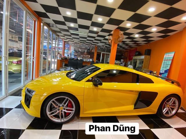 Hết qua tay ông Vũ và Cường Đô-la, Audi R8 V10 Plus lột xác khi được bán cho đại gia Bình Phước - Ảnh 3.