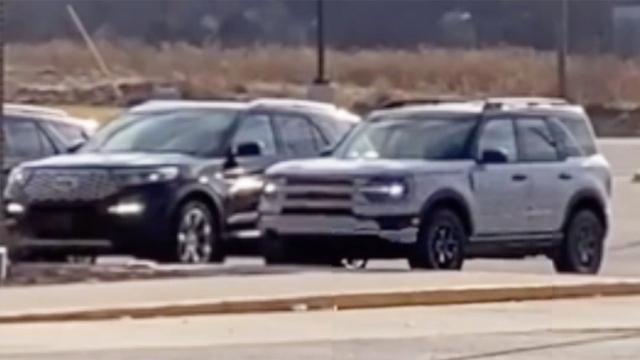Ford Bronco Sport lộ mặt, so kè Explorer đời mới - Ảnh 2.