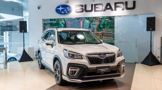 Subaru Forester tiếp tục giảm khủng 255 triệu đồng, quyết 'gặm nhấm' thị phần của Honda CR-V
