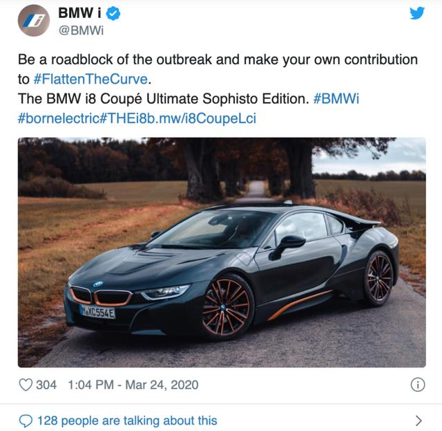 BMW bị chỉ trích vì dùng COVID-19 làm chiêu trò quảng cáo quá lố - Ảnh 1.