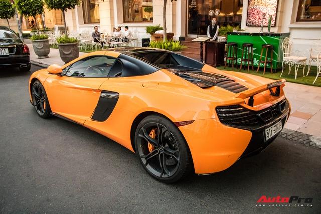 McLaren 650S Spider từng của Minh nhựa bất ngờ tái xuất trên phố Sài Gòn sau một thời gian lưu lạc ra cả Thủ đô - Ảnh 3.