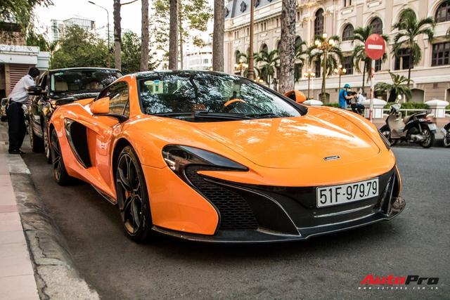 McLaren 650S Spider từng của Minh 'nhựa' bất ngờ tái xuất trên phố Sài Gòn sau một thời gian 'lưu lạc' ra cả Thủ đô