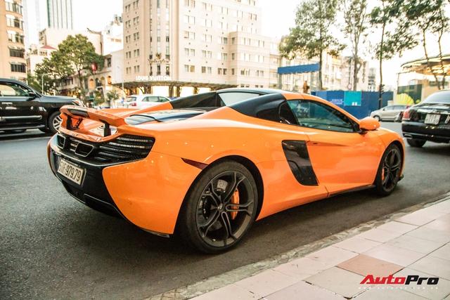 McLaren 650S Spider từng của Minh nhựa bất ngờ tái xuất trên phố Sài Gòn sau một thời gian lưu lạc ra cả Thủ đô - Ảnh 7.