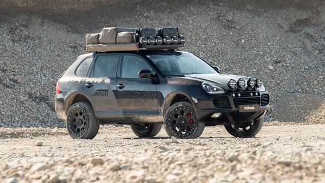 Porsche Cayenne hóa thân thành SUV địa hình hầm hố nhờ bản độ siêu chất