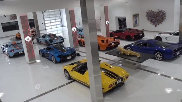 Bộ sưu tập hơn 100 siêu xe hàng chục triệu USD khiến bất cứ ai cũng phải thèm thuồng