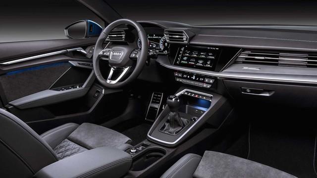 Audi A3 Sportback 2021 ra mắt, gây bất ngờ bằng nội thất mang chất Lamborghini - Ảnh 8.