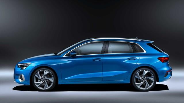 Audi A3 Sportback 2021 ra mắt, gây bất ngờ bằng nội thất mang chất Lamborghini - Ảnh 2.