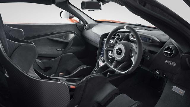 McLaren 765LT: Phiên bản 'cơ bắp' của 720S chào sân với động cơ V8 755 mã lực - Ảnh 8.