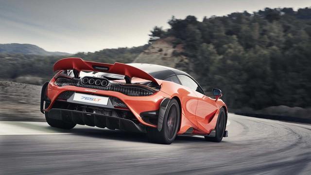 McLaren 765LT: Phiên bản 'cơ bắp' của 720S chào sân với động cơ V8 755 mã lực - Ảnh 1.