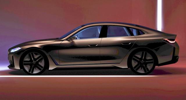 Quên hết i8, i3 đi vì BMW i4 lộ diện quá đẹp - Ảnh 1.
