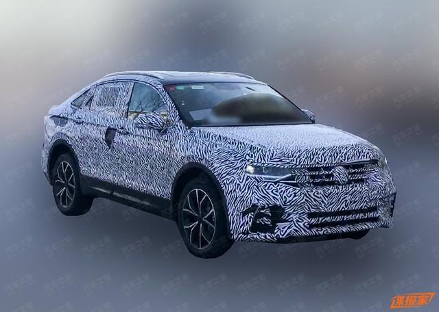 Volkswagen Tiguan Coupe xuất hiện, một vài đường nét hao hao BMW X4 - Ảnh 1.
