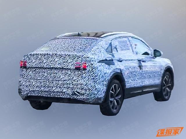 Volkswagen Tiguan Coupe xuất hiện, một vài đường nét hao hao BMW X4 - Ảnh 2.