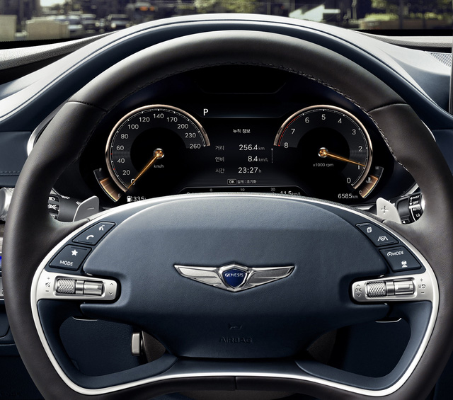Genesis G80 ăn đứt Mercedes-Benz E-Class, BMW 5-Series và Audi A6 nhờ... giá rẻ - Ảnh 5.