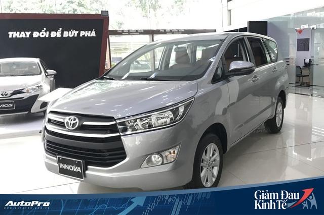 Toyota Innova dọn kho, giảm giá sốc gần 140 triệu đồng, tiệm cận Mitsubishi Xpander - Ảnh 1.