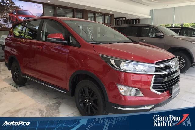 Toyota Innova dọn kho, giảm giá sốc gần 140 triệu đồng, tiệm cận Mitsubishi Xpander - Ảnh 3.