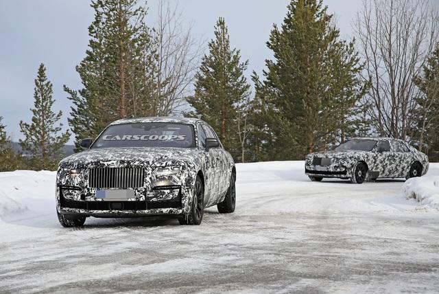 Rolls-Royce Ghost đời mới lại xuất hiện với 2 cấu hình chiều dài, lịch ra mắt có thể lùi sang năm sau - Ảnh 2.