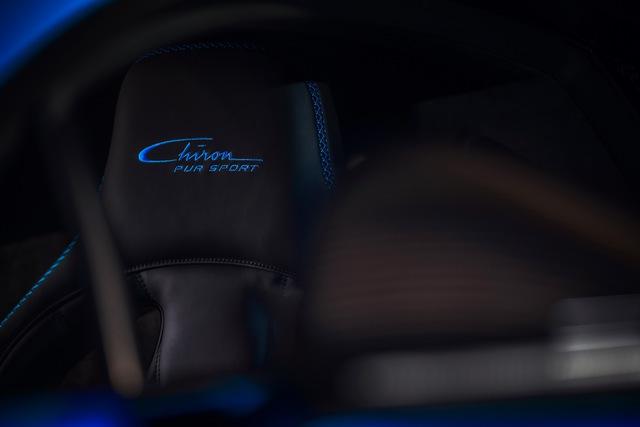 Soi siêu xe Bugatti Chiron Pur Sport qua ảnh, video mới - Ảnh 3.