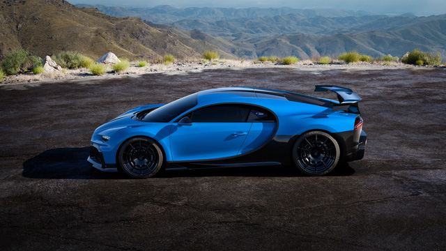 Soi siêu xe Bugatti Chiron Pur Sport qua ảnh, video mới - Ảnh 12.