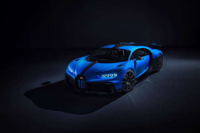 Soi siêu xe Bugatti Chiron Pur Sport qua ảnh, video mới - Ảnh 13.