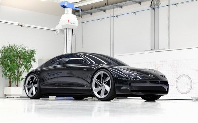 Hyundai làm xe thể thao kiểu mới: Thiết kế như Porsche, cửa lại mở giống Rolls-Royce - Ảnh 1.