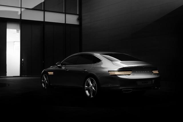 Genesis G80 tung loạt ảnh đầu tiên: Đẹp ngỡ ngàng, thách thức Mercedes-Benz E-Class, BMW 5-Series hay Lexus ES - Ảnh 2.