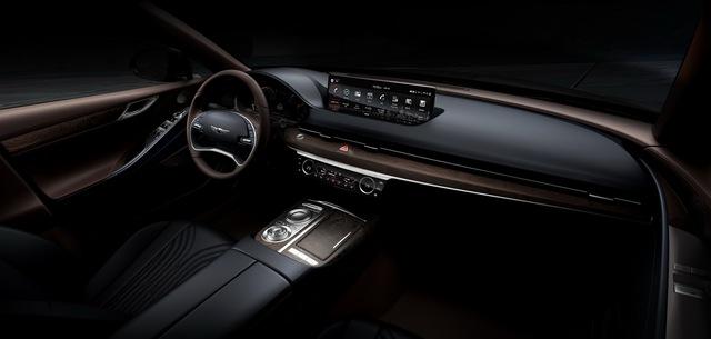 Genesis G80 tung loạt ảnh đầu tiên: Đẹp ngỡ ngàng, thách thức Mercedes-Benz E-Class, BMW 5-Series hay Lexus ES - Ảnh 5.