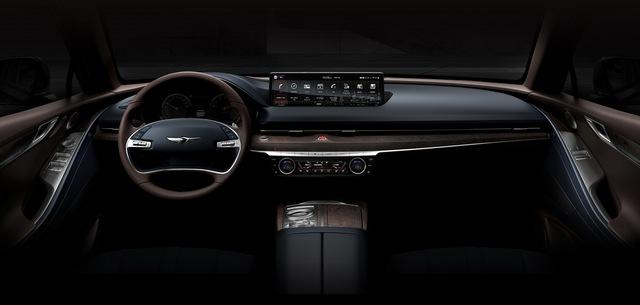 Genesis G80 tung loạt ảnh đầu tiên: Đẹp ngỡ ngàng, thách thức Mercedes-Benz E-Class, BMW 5-Series hay Lexus ES - Ảnh 4.