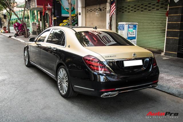 Góc làm đẹp không khó: Chỉ với lớp decal, đại gia Cần Thơ biến Mercedes-Maybach S 450 sang phong cách 2 tông bắt mắt - Ảnh 7.